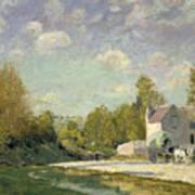 Paysage Art Print by Alfred Sisley