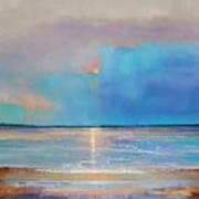 Peace Beach Art Print