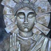 Peace Buddha Art Print