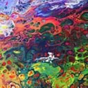 Peace Frog Art Print