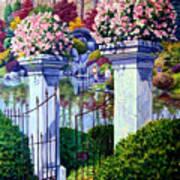 Peace In The Garden Art Print