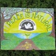 Peace Is Natural Art Print