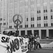 Peace March 1986 Art Print