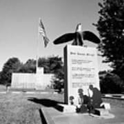 Peace Through Strength - Veterans War Memorial Art Print