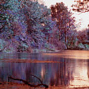 Peaceful In Infrared No2 Art Print