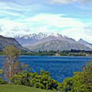 Peaceful Lake -- New Zealand Art Print