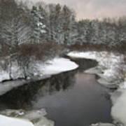 Peaceful River Art Print