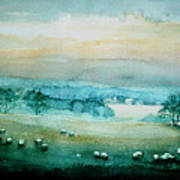 Peaceful Valley Art Print