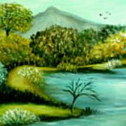 Peaceful  Waters 2 Art Print