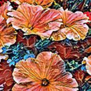 Peanies Flower Blossom Art Print