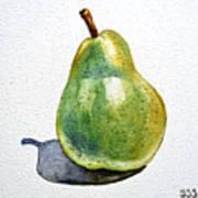 Pear Print by Irina Sztukowski
