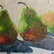 Pear Shadow Art Print
