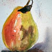 Pear Study Art Print