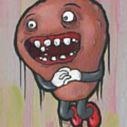 Pear Troll Art Print