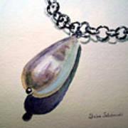 Pearl Art Print by Irina Sztukowski