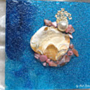 Pearl Of The North Sea Sylt No 1 Art Print