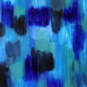 Pearl Raindrops Art Print