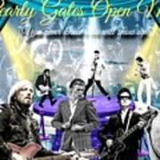Pearly Gates Open Mic  Art Print