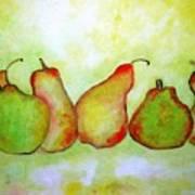 Pears - 2016 Art Print