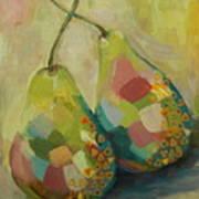 Pears A La Klimt Art Print