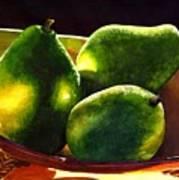 Pears No 2 Art Print