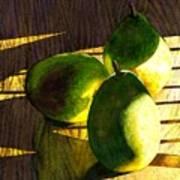 Pears No 3 Art Print