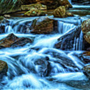 Pearsons Falls On Colt Creek Art Print