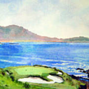 Pebble Beach Gc 7th Hole Art Print