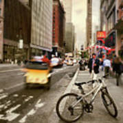 Peddle It Manhattan Art Print