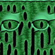 Peek-a-boo V3 Art Print