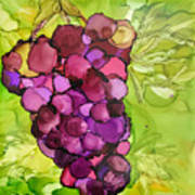 Peel Me A Grape Art Print