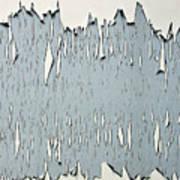 Peeling Paint 2 Art Print