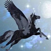 Pegasus Flight Art Print