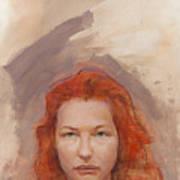 Peggy Is Fire Art Print