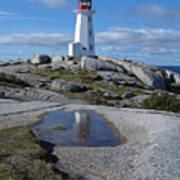 Peggys Cove Nova Scotia Canada Art Print