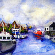 Peggys Cove Art Print