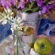 Peggy's Orchids Art Print