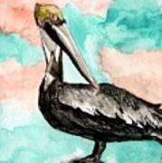 Pelican 3 Art Print