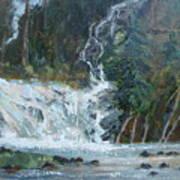 Pelican Falls Art Print