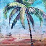 Pelican Palm II Art Print