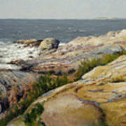 Pemaquid Point Art Print