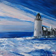 Pemaquid Winter Light Art Print
