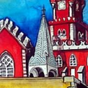 Pena Palace In Portugal Art Print