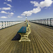Penarth Pier 9 Art Print