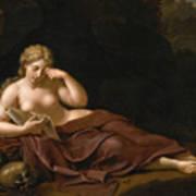 Penitent Magdalene Art Print