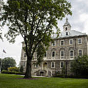 Penn State Old Main From Side  Art Print