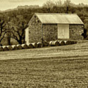 Pennsylvania Barn Art Print