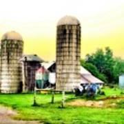 Pennsylvania Farming  Art Print