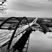 Pennybacker Bridge Art Print