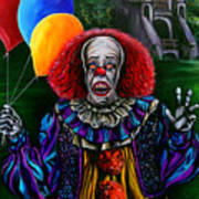 Pennywise It Art Print